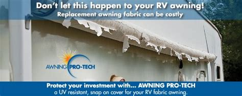 awning pro tech rv awning covers a 16 awning pro tech 4 piece kit for a