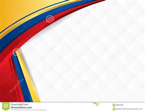 themes gratis en español fondo abstracto con formas con los colores de la bandera