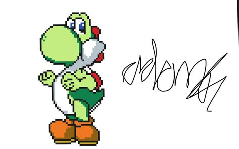 pixel character 6 yoshi by meowmixkitty on deviantart yoshi pixel art by djiadam123 on deviantart