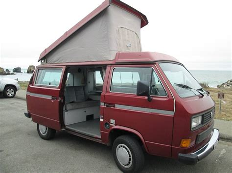 volkswagen vanagon 1987 1987 vw vanagon westfalia cer for sale in pacific