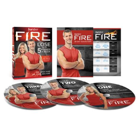 burstfit dr josh axe s dvd workout program tabata dvd