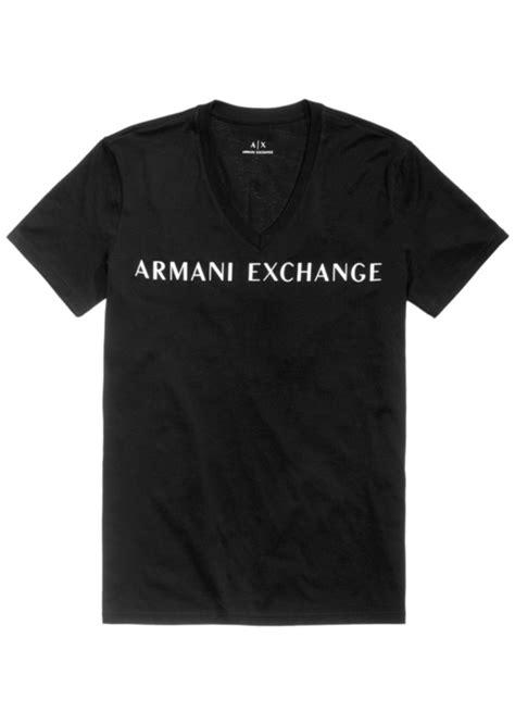 Armani Exchange Mens T Shirt Size S armani exchange armani exchange s logo print v neck t shirt t shirts shop it to me