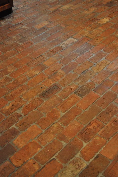 The Floor Vintage Brick Floor Thecottageatroosterridge