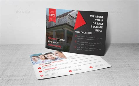 18 Real Estate Postcard Templates Free Sle Exle Format Download Free Premium Templates Real Estate Postcards Templates Free