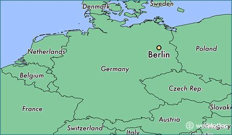 berlin on the world map where is berlin germany where is berlin germany