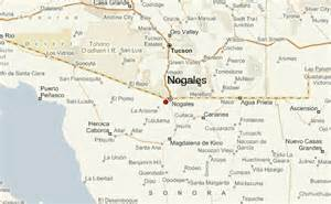 where is nogales arizona on a map nogales location guide