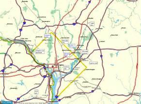 washington dc region map washington dc map citylondonhotel