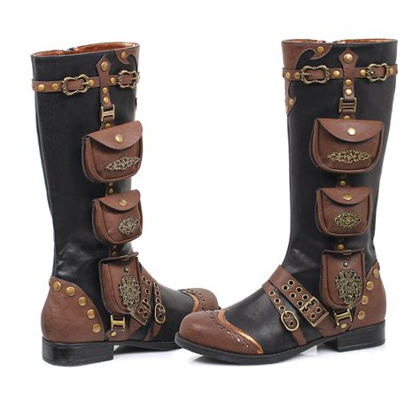 womens seafarer boots steunk renaissance