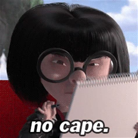No Capes Meme - fail the incredibles gif find share on giphy