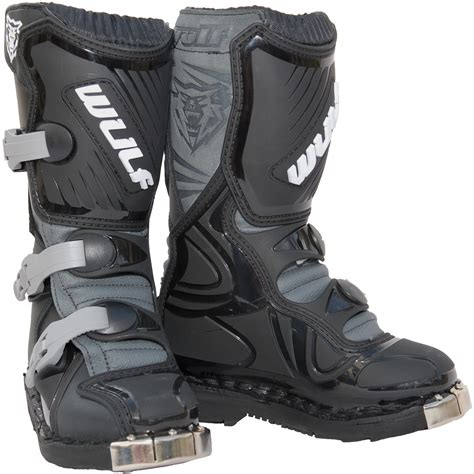 wulf motocross boots wulf cub la junior motocross boots wulfsoprt off road kids
