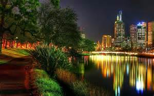 lights melbourne wallpaper melbourne australia city lights park