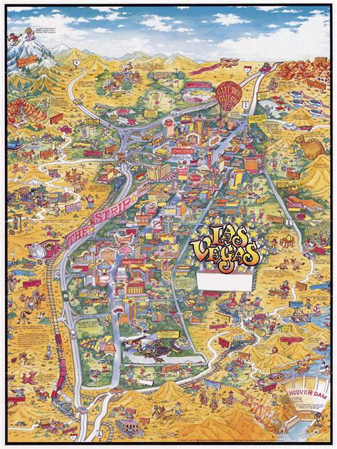 america map vegas maps update 14882105 tourist map of las vegas las