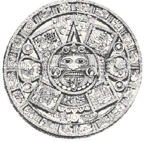 Aztec Calendar Symbols Aztec Horoscope The Ascendants Rome Central Magazine