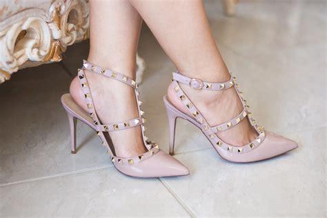 High Heels Valentino valentino rockstuds 995 vs kaitlyn pan studded heels
