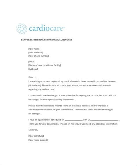 fillable online prevention cancer sample cover letter to request