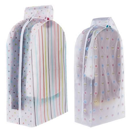 Wardrobe Storage Bags by Vacuum Bags For Storing Clothes Garment Suit Coat Dust