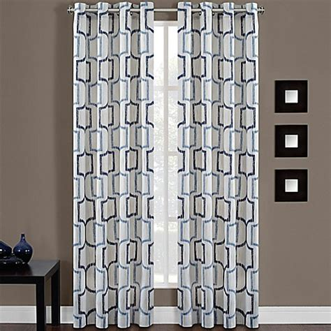 bed bath and beyond grommet curtains portinari grommet top window curtain panel bed bath beyond