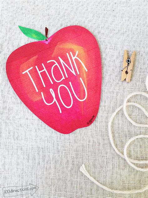 printable apple gift tags teacher appreciation thank you gift tag the country chic