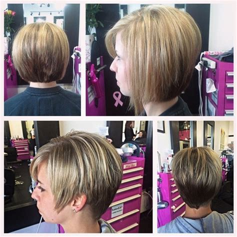 woman short layered bob wedged into neck 30 latest chic bob hairstyles for 2017 pretty designs