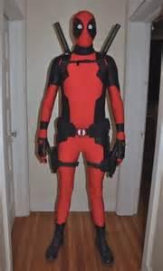 deadpool costume halloween city mega awesome custom deadpool costume cosplay ideas