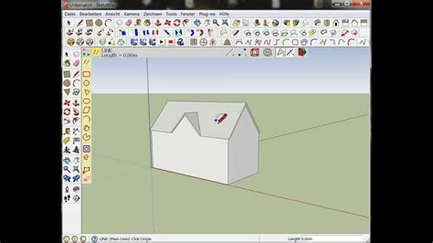 sketchup haus sketchup haus mit fester gr 246 223 e dachgaube