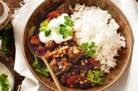 beef and barley stew recipe alton brown food network slow cooker moroccan beef and barley stew recipe taste