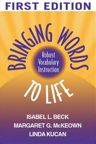 bringing words to second edition robust vocabulary bringing words to robust vocabulary by