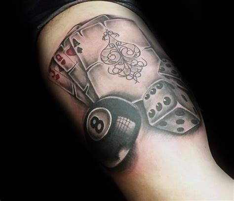 8 ball tattoo designs top 40 best 8 designs for billiards ink
