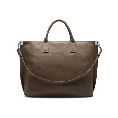 Artist Julie Verhoeven For Designer Mulberry Shopper Tote by Lyst Mulberry Zipped Leather Tote In Brown