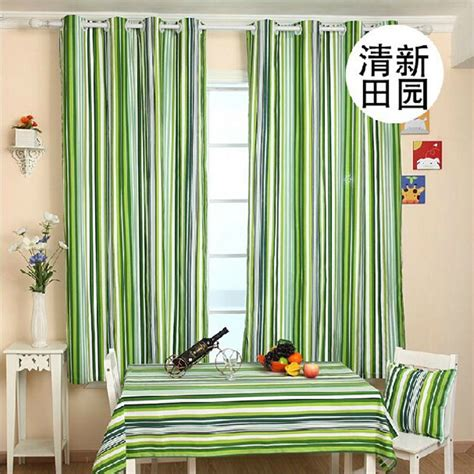 curtains for a green room striped curtains canvas simple modern style curtains for