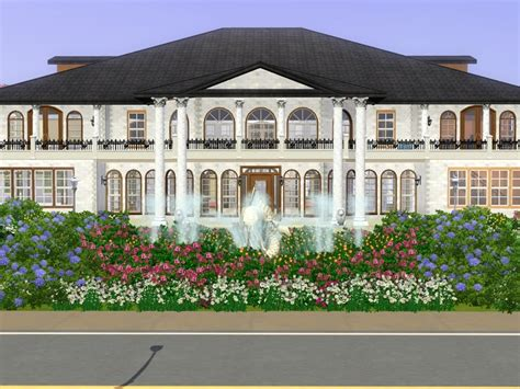 sims 3 luxury mansion by ramborocky on deviantart sims 3 mansion shpyplayer s bentley mansion sims 3