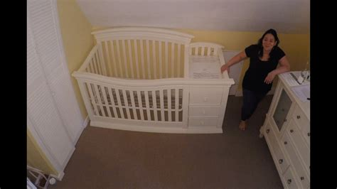 baby crib assembly time lapse sorelle verona 4 in 1