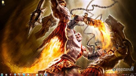 themes for windows 7 god god of war windows 7 theme download