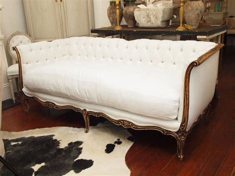 vintage french sofa gracefully vintage french furniture