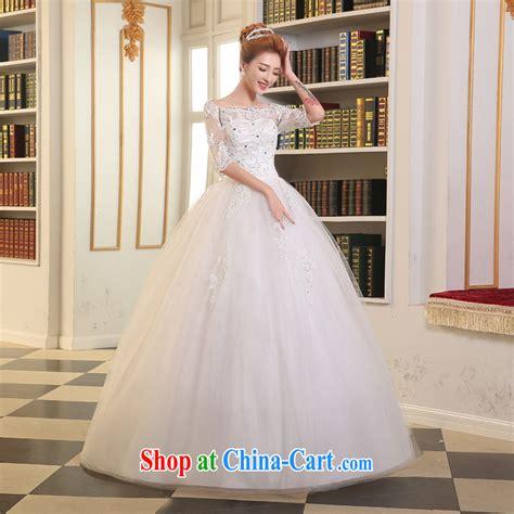 the wedding dresses summer 2015 new marriages wedding fashion korean wedding a shoulder