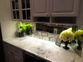 mirror or glass backsplash the glass shoppe a division