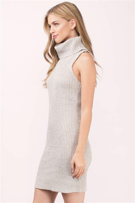 Knitted Turtleneck Dress sweater dresses for fall oversized turtlenecks knit