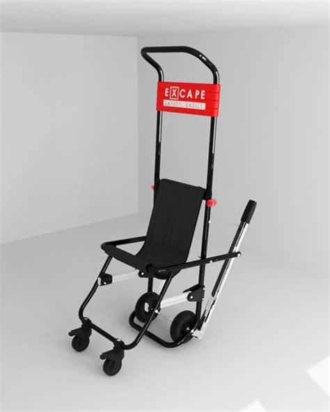 sedia scendiscale sedia di evacuazione per disabili excape grimas