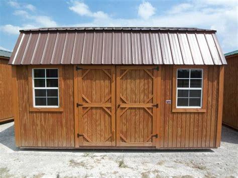 graceland portable buildings    side lofted barn pics