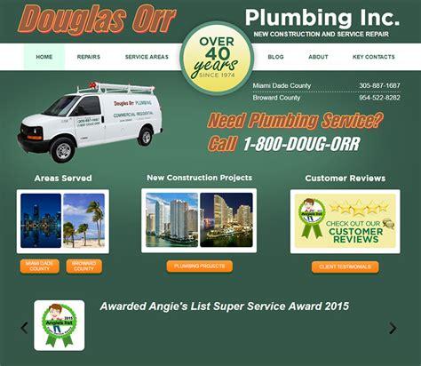 Orr Plumbing by 100 Plumbing Websites For Design Inspiration