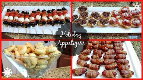 Easy Christmas Dinner Party Menu - holiday party appetizers youtube