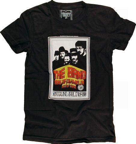 Band S S T Shirt the band s t shirt from winterland nov 25 1976