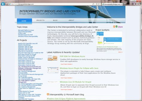 Website Microsoft Andy Yeckel Graphic Design