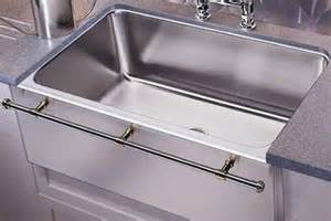 stainless farmhouse sink with towel bar culinary gourmet stainless steel kitchen sinks