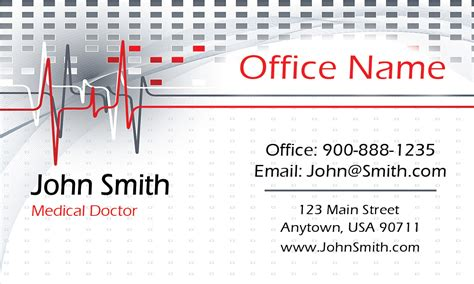 doctor visiting card design templates oncology doctor business card design 301341