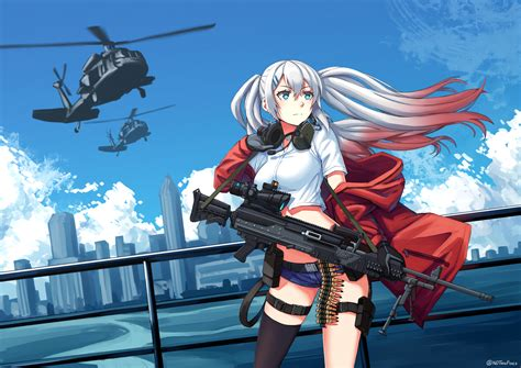 lwmmg girls frontline lightweight medium machine gun