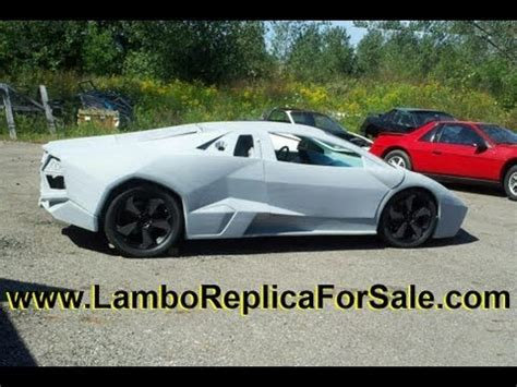 Lamborghini Reventon Replica Kit Lamborghini Reventon Coupe Replica Kit Car 3800sc V6
