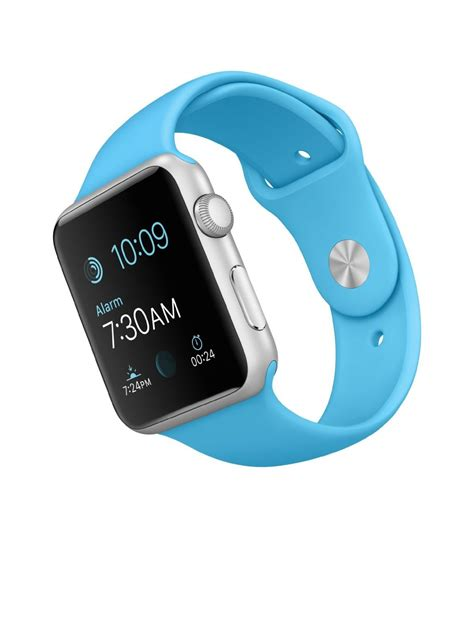 Apple Sport 42mm apple sport 42mm with blue band and silver