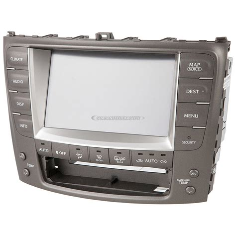 how does cars work 2008 lexus is navigation system 2008 lexus is250 navigation unit from car parts warehouse