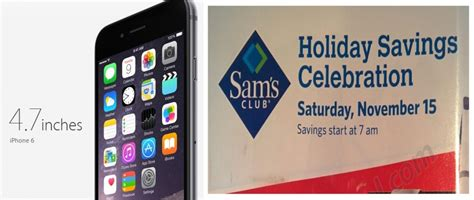 iphone 6 black friday deals at sam s club walmart target and best buy